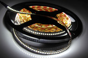 LED strip 5m, adhesive tape + adapter for fabric banner frame framframe