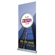 roll up display for banner, transportbag incl.