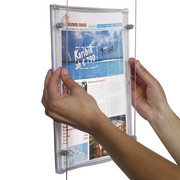 suspended information holder pixquick A4 for cable